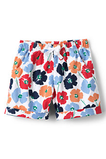 Girls' Pattern Pull on Shorts