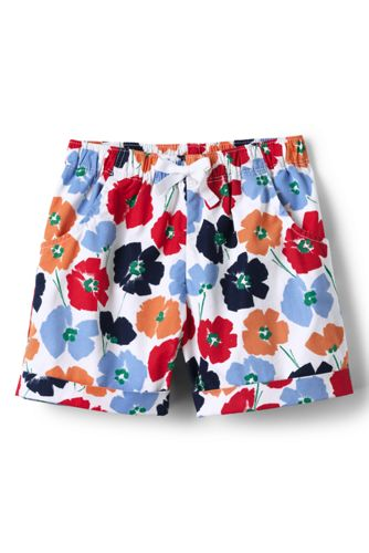 Toddler Girls' Pattern Pull on Shorts