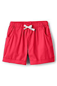 Girls Red Shorts from Lands' End