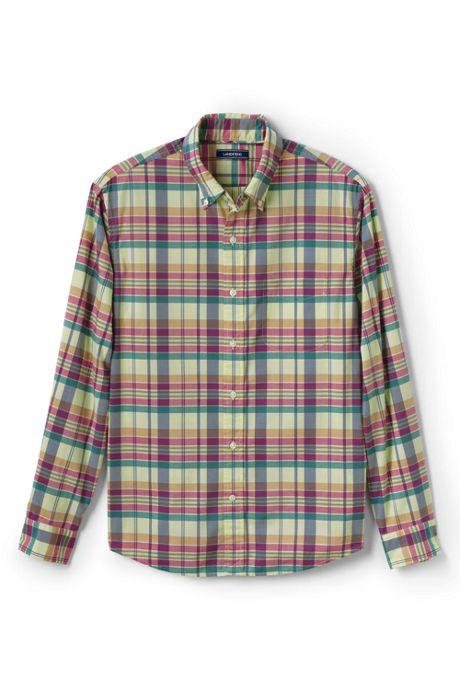 Men's Tailored Fit Lightweight Cotton Shirt