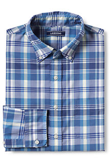 Men's Patterned Lightweight Cotton Shirt