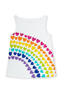 Girls' A-line Graphic Vest Top