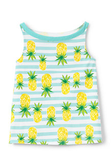Girls' A-line Patterned Vest Top