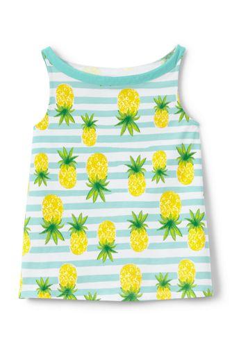Toddler Girls' A-line Patterned Vest Top