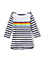 Little Girls Boatneck Sailor Top