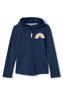 Girls' Rainbow Hoodie