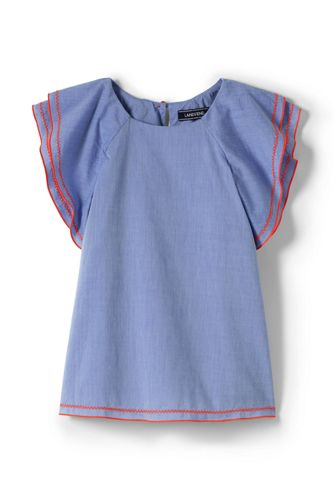 Little Girls' Ruffle Top