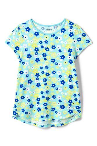 Le T-Shirt Évasé à Motifs, Fille