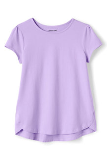 Girls A-line Short Sleeve Tee
