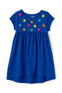 Verziertes Leggingsshirt in A-Linie für Mädchen