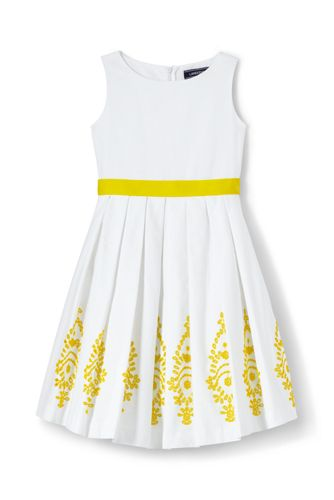 Little Girls' Broderie Anglaise Dress