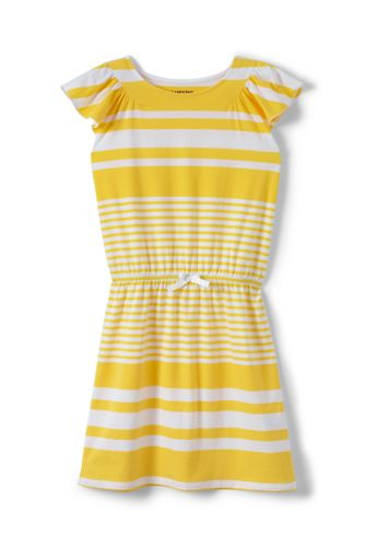 Toddler Girls' Flutter Sleeve Dress
