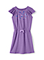 Girls' Flutter Sleeve Dress