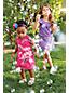 Toddler Girls' Short Sleeve Gathered Waist Dress