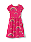 Toddler Girls' Short Sleeve Gathered Waist Dress