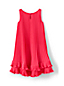 Toddler Girls Sleeveless Pleated Trapeze Dress