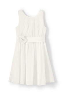 Girls' Soft Pleated Dress