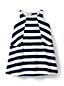 Little Girls' Trapeze Woven Pieced Dress