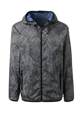 Packable Reversible Windbreaker 481304: Surf Grey Fawn