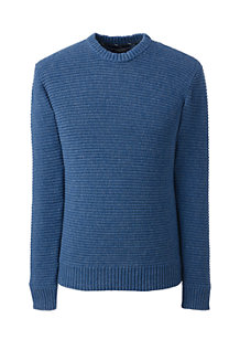 Men's Horizontal Rib Drifter Cotton Jumper