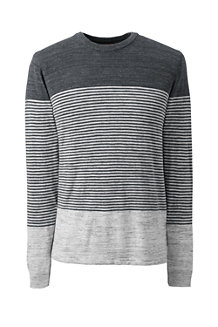 Men's Placed Stripe Mariner Cotton Jumper