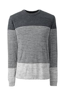 Men's Placed Stripe Mariner Cotton Jumper