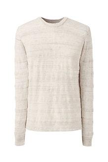 Mariner Leichter Baumwoll-Pullover mit Struktur-Streifen für Herren