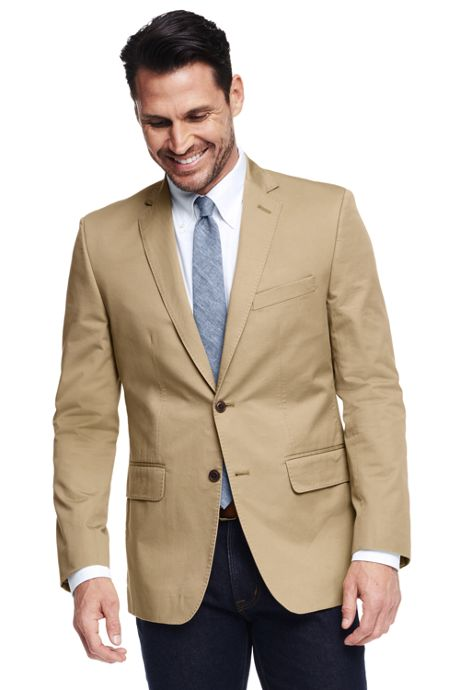 Men's Traditional Fit Chino Blazer