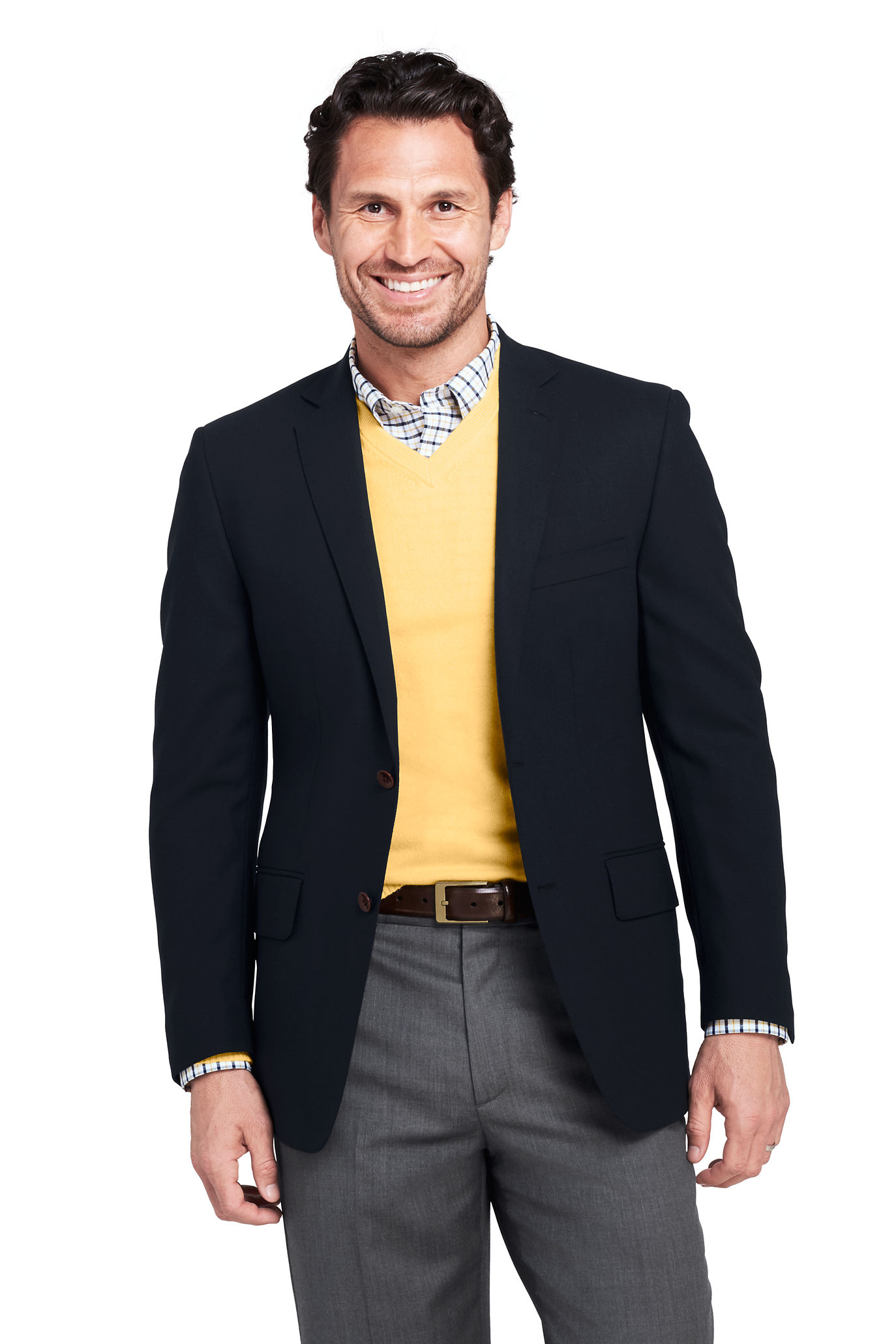 School Uniform Men's Hopsack Blazer