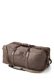Waxed Canvas Holdall Bag