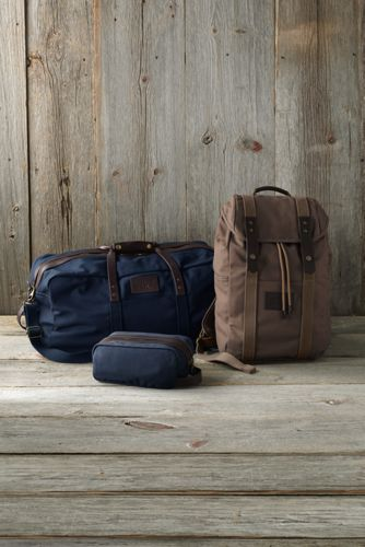 Waxed Canvas Travel Duffle Bag