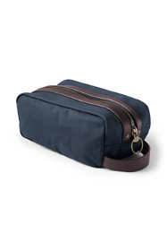 Waxed Canvas Travel Dopp Kit Toiletry Bag