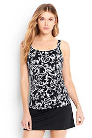 Women's Scoopneck Tankini Top Control