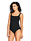 Women's Beach Living Square Neck Tankini Top - DD Cup