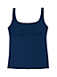 Women's Mastectomy Beach Living Square Neck Tankini Top