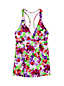 Women's Regular Beach Living Swing Floral Tankini Top