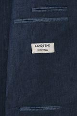 Linen Baird Mcnutt Herringbone Sport Coat 481505: Navy