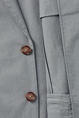 Stretch Poplin Sport Coat 481507: Grey