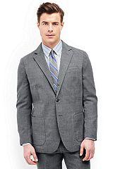 Wool Sport Coat 481510: Light Grey