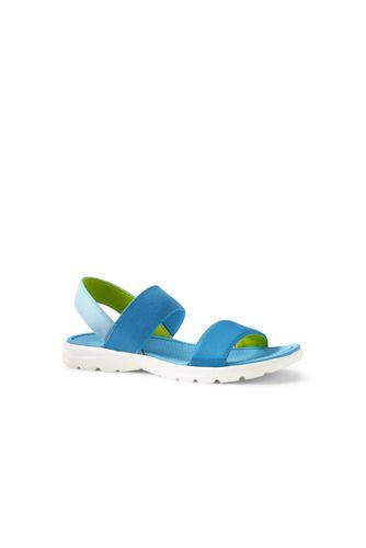 Womens Alpargata Lightweight Summer Sandals - 4 - BLUE Lands End ts93U