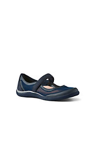 Womens Wide Comfort Mary Jane Shoes - 4.5 - BLACK Lands End Limit Offer Cheap Factory Price lekWwQOOP