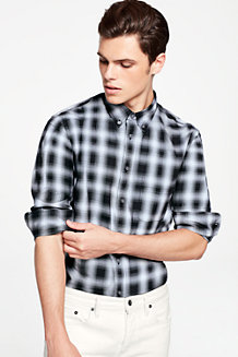 Men's Shadow Check Shirt