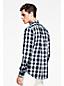 Baumwollhemd mit Schattenkaros für Herren
