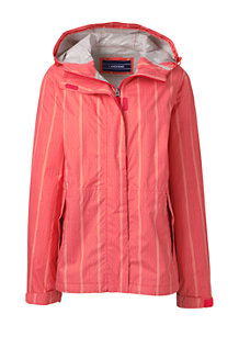 Women's Patterned Breakwater Rain Jacket