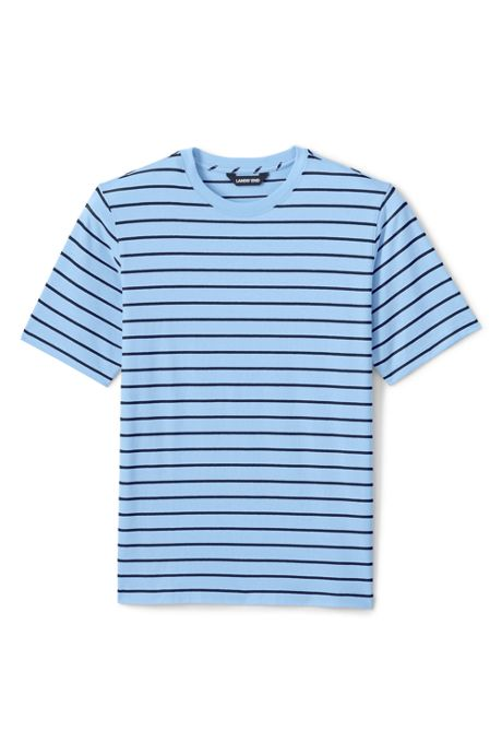 Men's Big and Tall Super-T Short Sleeve Stripe T-Shirt