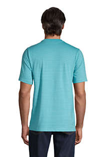 Men's Tall Super-T Short Sleeve  Stripe T-Shirt, Back