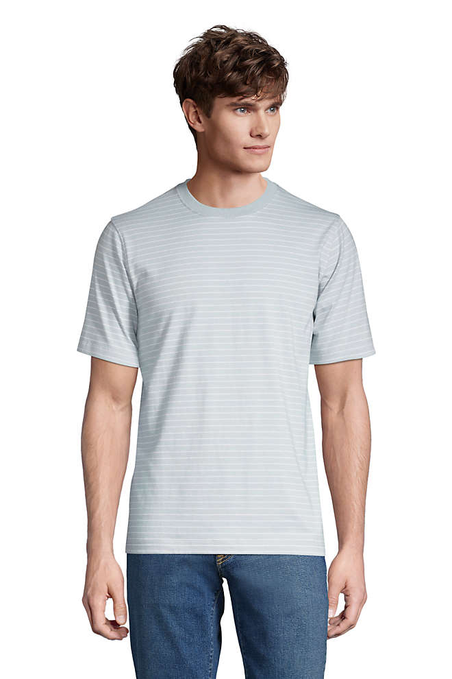 Men's Tall Super-T Short Sleeve  Stripe T-Shirt, Front