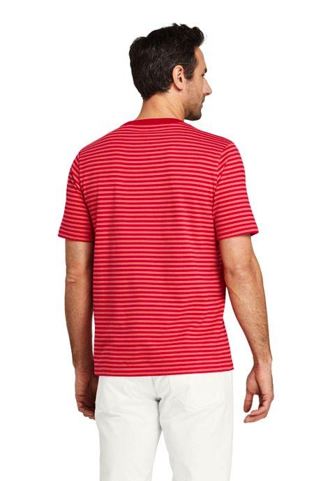 Men's Tall Short Sleeve Striped Super Tee