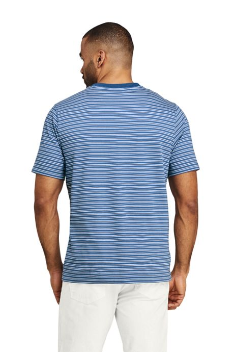 Men's Tall Short Sleeve Striped Super Tee