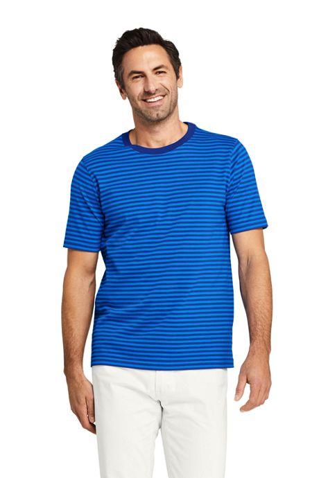 Men's Short Sleeve Stripe Super-T